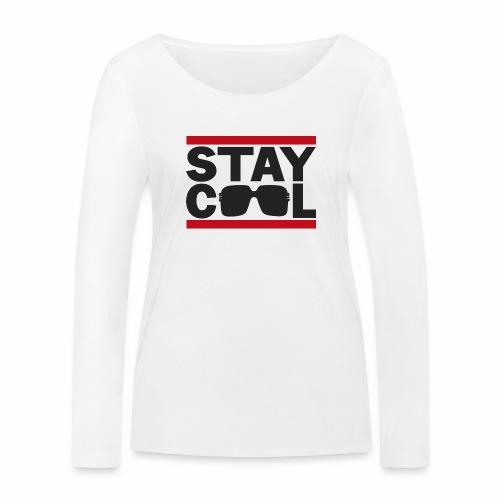 Stay Cool ver01 - Økologisk Stanley & Stella langærmet T-shirt til damer