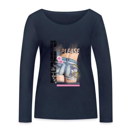 backgirl - Maglietta a manica lunga ecologica da donna di Stanley & Stella