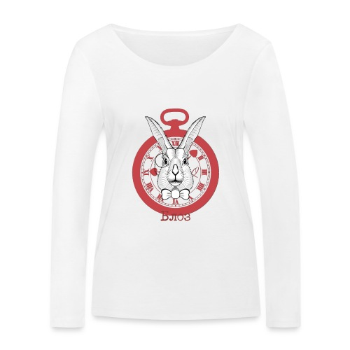White rabbit - T-shirt manches longues bio Stanley & Stella Femme