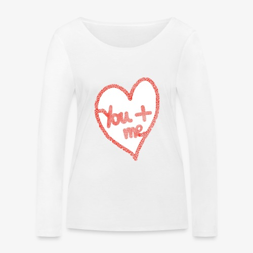 You and me - T-shirt manches longues bio Stanley & Stella Femme