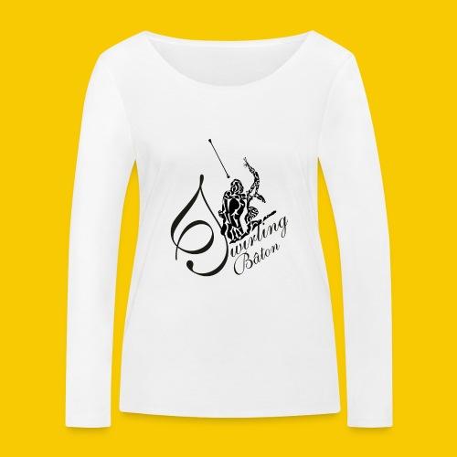 twirling b 2 - T-shirt manches longues bio Stanley & Stella Femme