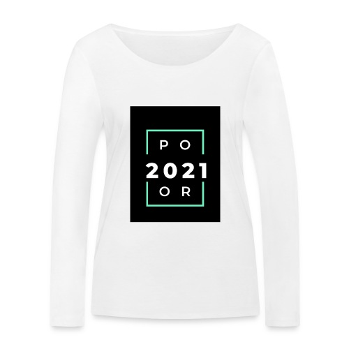 Poor 2021 - T-shirt manches longues bio Stanley & Stella Femme