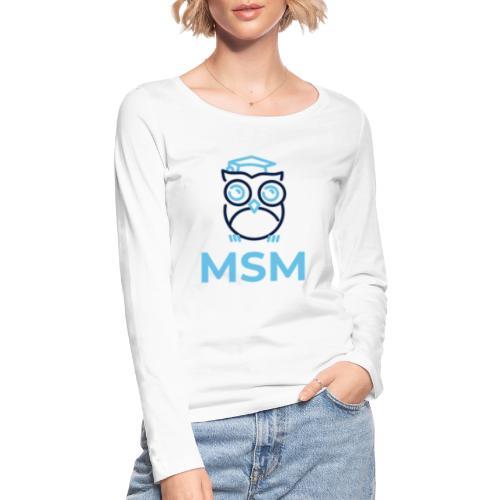 MSM UGLE - Økologisk Stanley & Stella langærmet T-shirt til damer