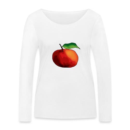 mela-png - Maglietta a manica lunga ecologica da donna di Stanley & Stella
