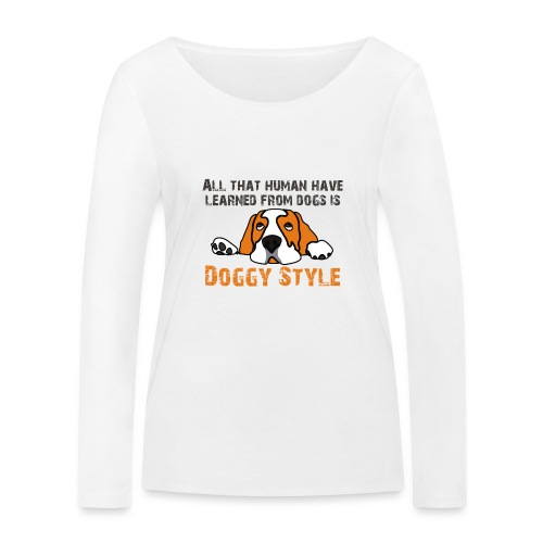 Doggy Style - T-shirt manches longues bio Stanley & Stella Femme