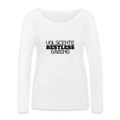 Volscente Restless Logo B - Maglietta a manica lunga ecologica da donna di Stanley & Stella