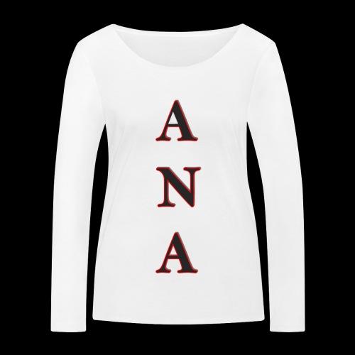 ANA - Camiseta de manga larga ecológica mujer de Stanley & Stella