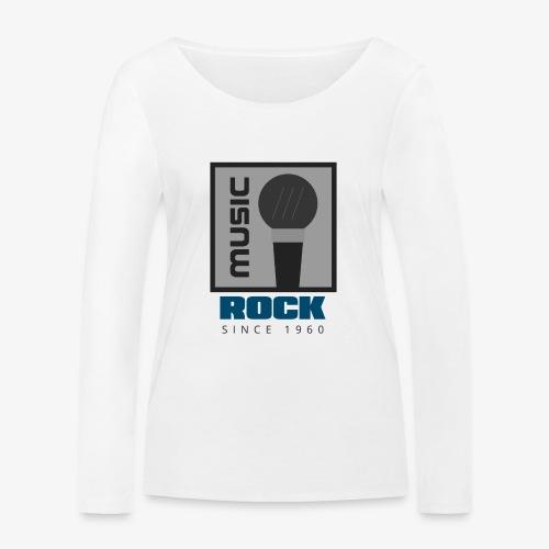 MUSIC 004A - Camiseta de manga larga ecológica mujer de Stanley & Stella