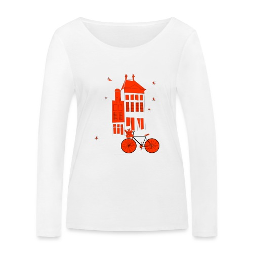 Christmas in The Hague - Women's Organic Longsleeve Shirt by Stanley & Stella