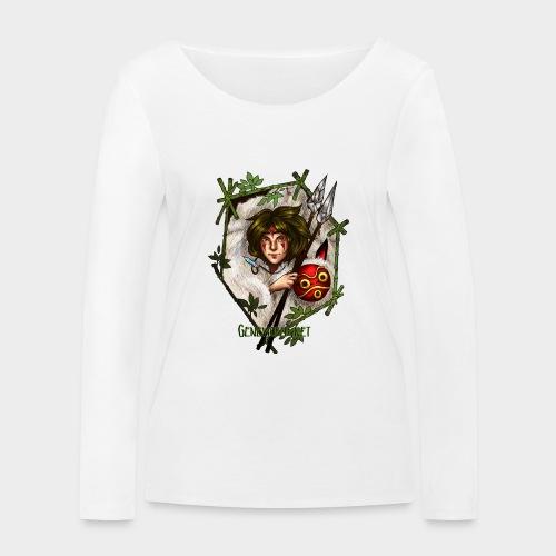 Geneworld - Mononoke - T-shirt manches longues bio Stanley & Stella Femme