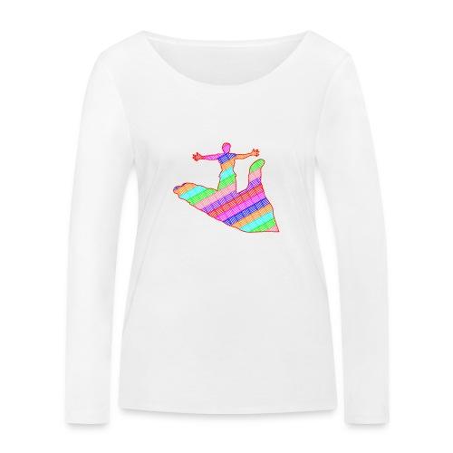 main - T-shirt manches longues bio Stanley & Stella Femme