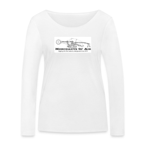 moa1a png - Women's Organic Longsleeve Shirt by Stanley & Stella