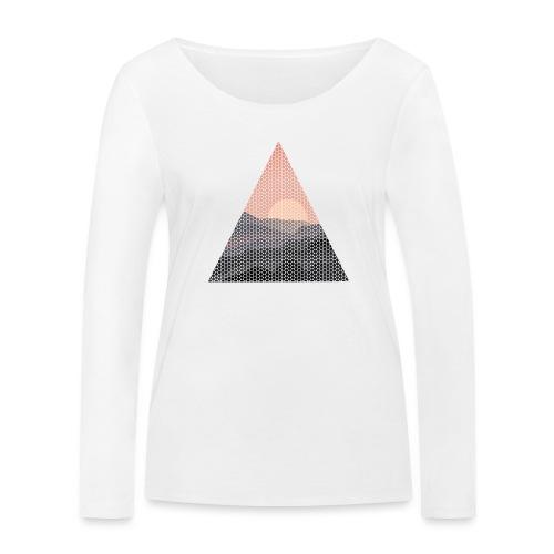 Dots Sundowner - Frauen Bio-Langarmshirt von Stanley & Stella