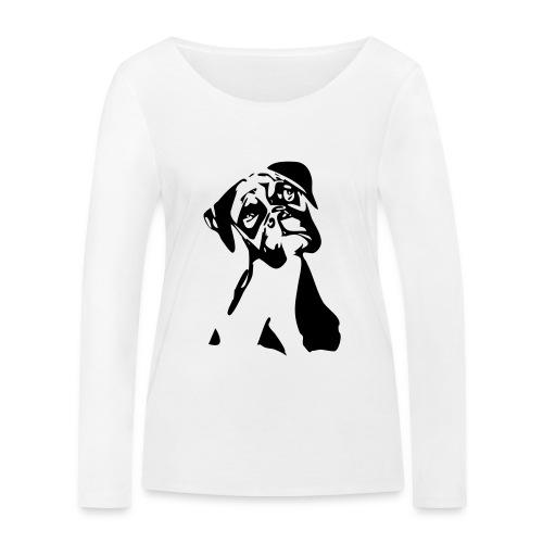 Boxer - Frauen Bio-Langarmshirt von Stanley & Stella