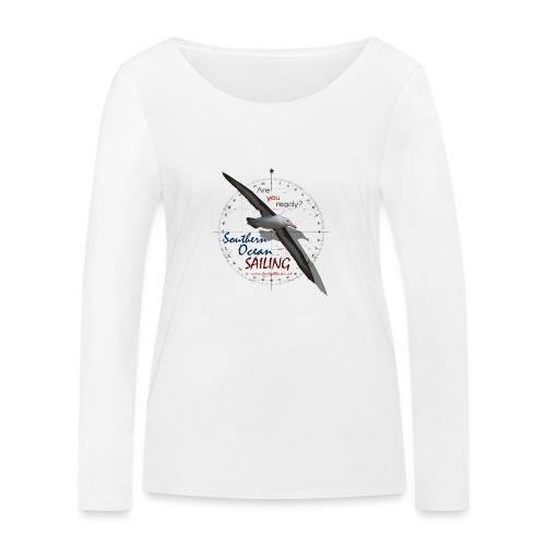 southern ocean sailing - Frauen Bio-Langarmshirt von Stanley & Stella