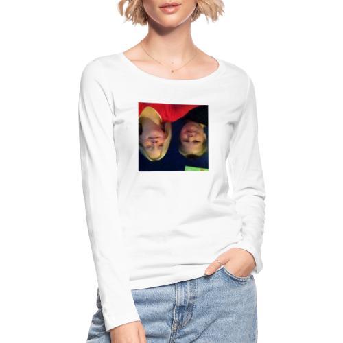 Gammelt logo - Økologisk Stanley & Stella langærmet T-shirt til damer