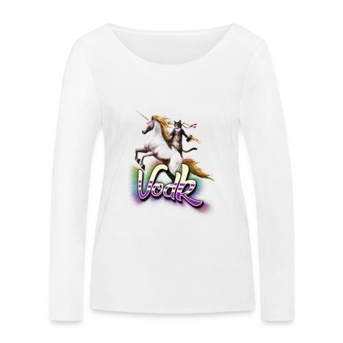 VodK licorne png - T-shirt manches longues bio Stanley & Stella Femme