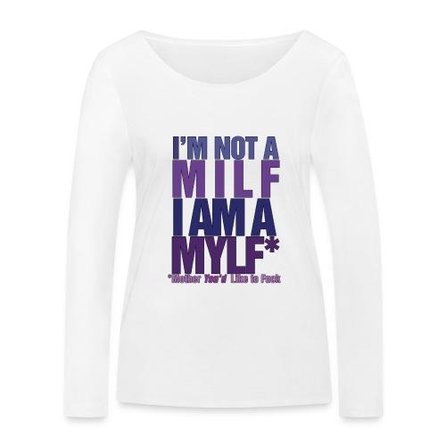MYLF - Økologisk langermet T-skjorte for kvinner fra Stanley & Stella