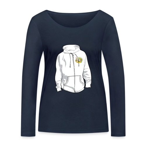 hoodyfront - Vrouwen bio shirt met lange mouwen van Stanley & Stella