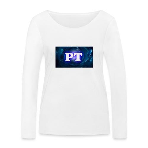 Project T Logo - Women's Organic Longsleeve Shirt by Stanley & Stella