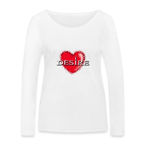Desire Nightclub - Women's Organic Longsleeve Shirt by Stanley & Stella