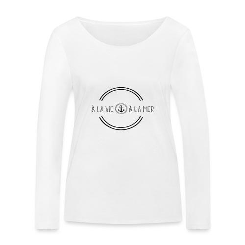 Lever l'ancre - T-shirt manches longues bio Stanley & Stella Femme