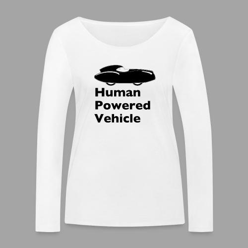 Quattrovelo Human Powered Vehicle black - Stanley & Stellan naisten pitkähihainen luomupaita