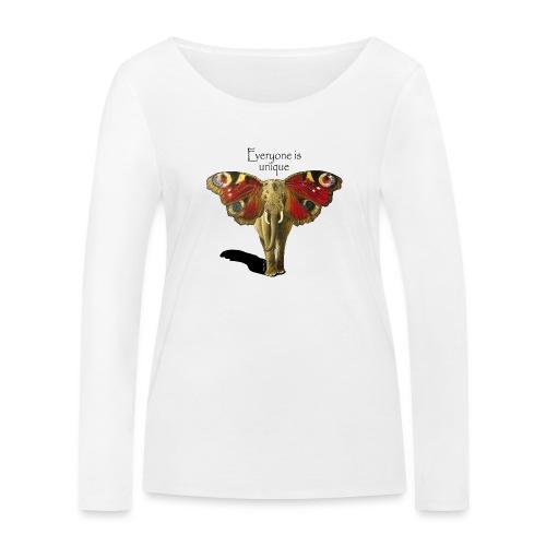 Everyone is unique - Frauen Bio-Langarmshirt von Stanley & Stella