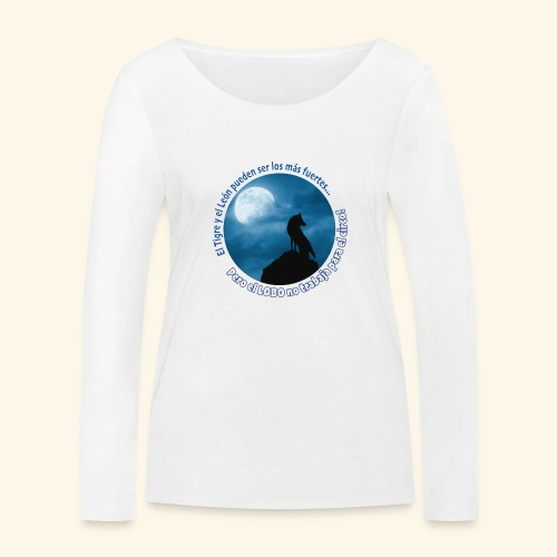 LOBO - Camiseta de manga larga ecológica mujer de Stanley & Stella