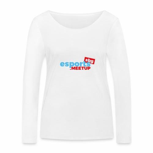 esports meetup sbg - Frauen Bio-Langarmshirt von Stanley & Stella