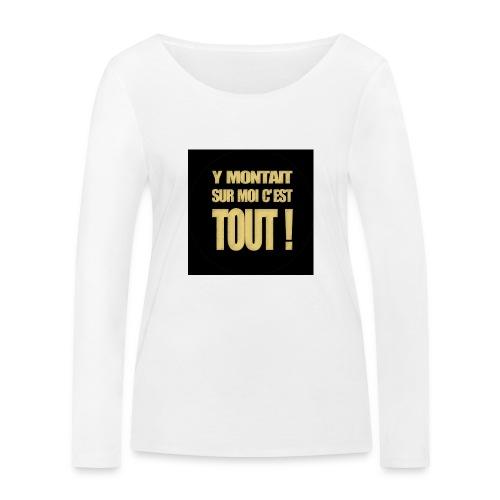 badgemontaitsurmoi - T-shirt manches longues bio Stanley & Stella Femme