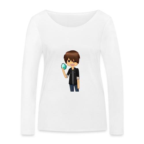 Minecraft Cartoon - Økologisk Stanley & Stella langærmet T-shirt til damer