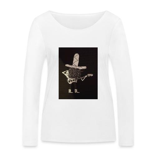 Mexican Bass Player - Women's Organic Longsleeve Shirt by Stanley & Stella