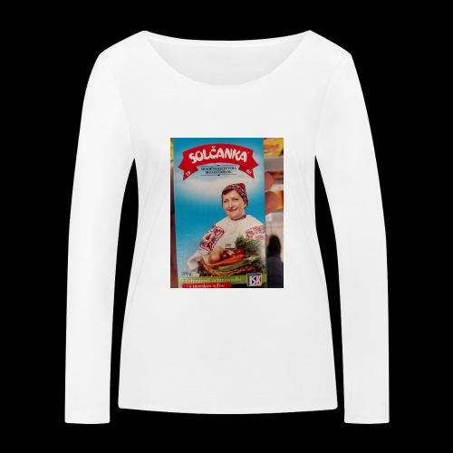 Babushka's fines - Women's Organic Longsleeve Shirt by Stanley & Stella