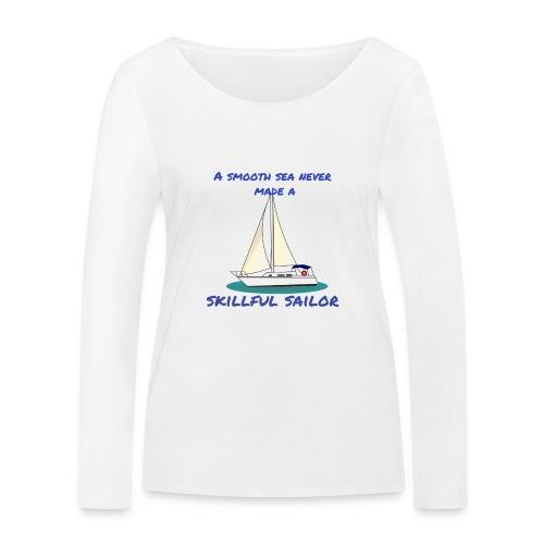 Skillful Sailor - Frauen Bio-Langarmshirt von Stanley & Stella