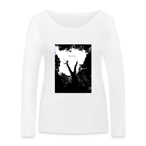 Scarry / Creepy - Women's Organic Longsleeve Shirt by Stanley & Stella