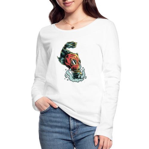 toxique - T-shirt manches longues bio Stanley & Stella Femme