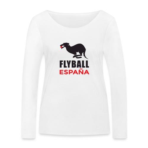 Flyball españa - Camiseta de manga larga ecológica mujer de Stanley & Stella