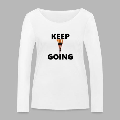 Keep going - Frauen Bio-Langarmshirt von Stanley & Stella