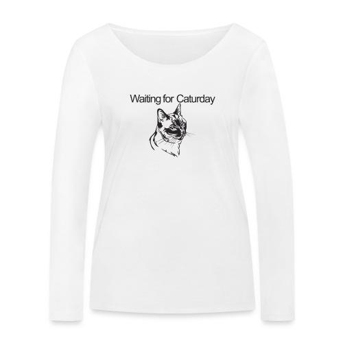 Caturday - Women's Organic Longsleeve Shirt by Stanley & Stella