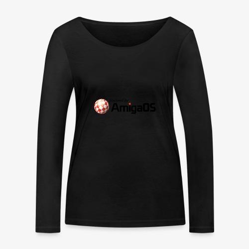 PoweredByAmigaOS Black - Women's Organic Longsleeve Shirt by Stanley & Stella