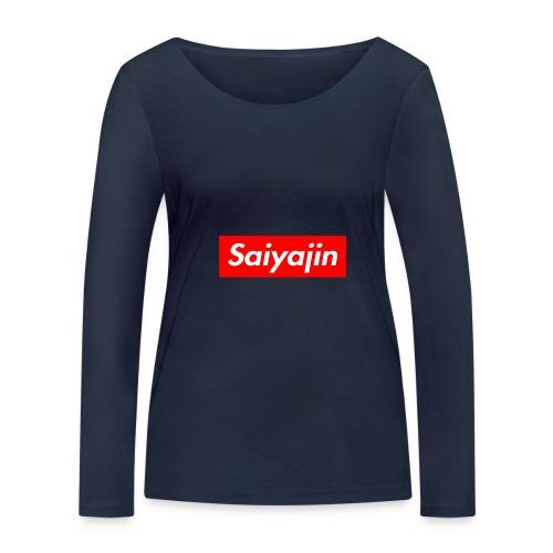 saiyajin - T-shirt manches longues bio Stanley & Stella Femme