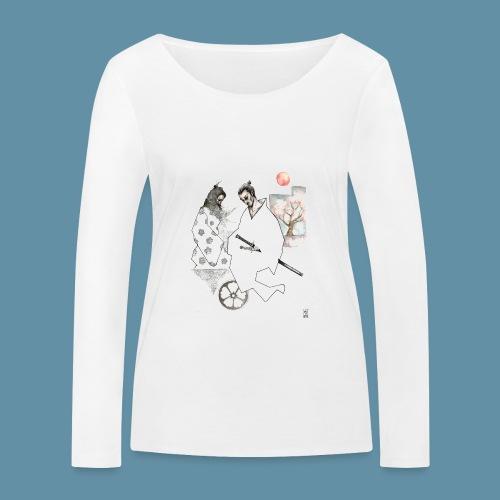 Samurai copia jpg - Maglietta a manica lunga ecologica da donna di Stanley & Stella