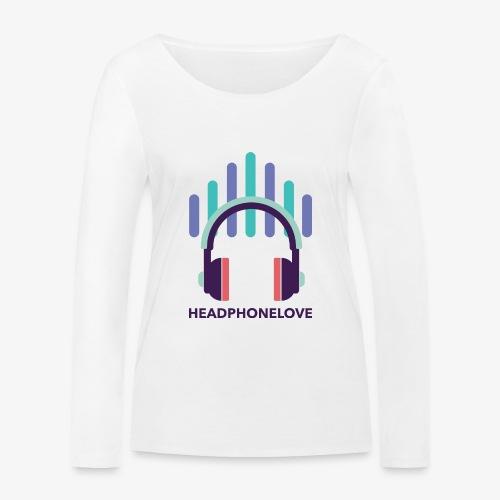 headphonelove - Frauen Bio-Langarmshirt von Stanley & Stella