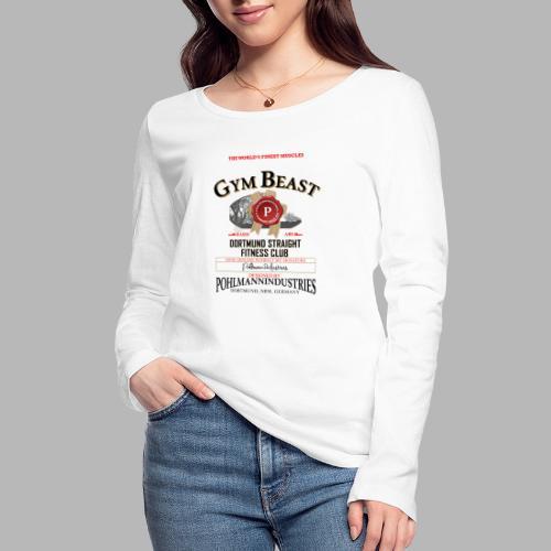 GYM BEAST - Frauen Bio-Langarmshirt von Stanley & Stella