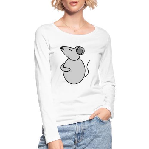 Rat - just Cool - c - Frauen Bio-Langarmshirt von Stanley & Stella