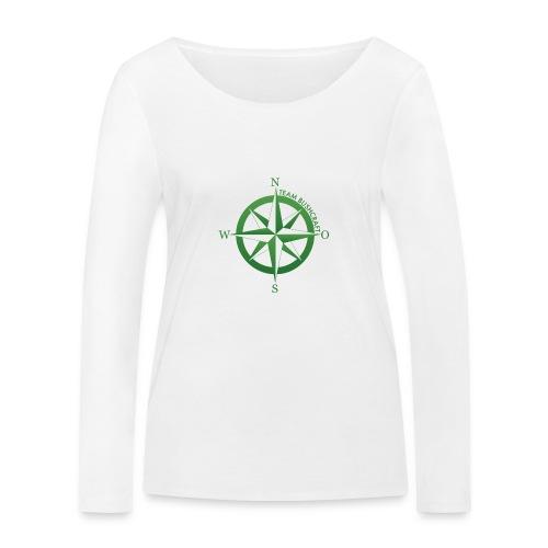 Team Bushcraft Kompass - Frauen Bio-Langarmshirt von Stanley & Stella