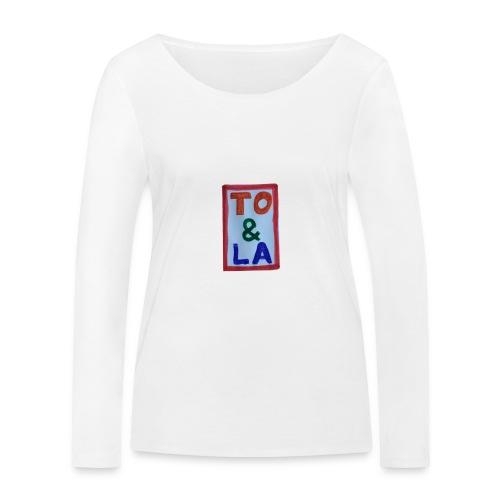 TO & LA - Ekologiczna koszulka damska z długim rękawem Stanley & Stella