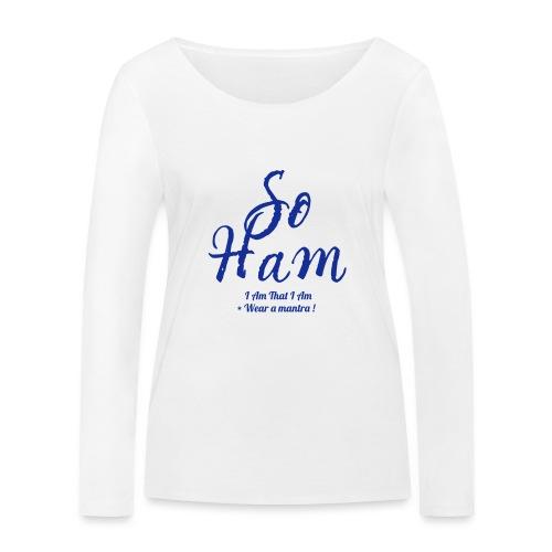 SOHAM - Maglietta a manica lunga ecologica da donna di Stanley & Stella