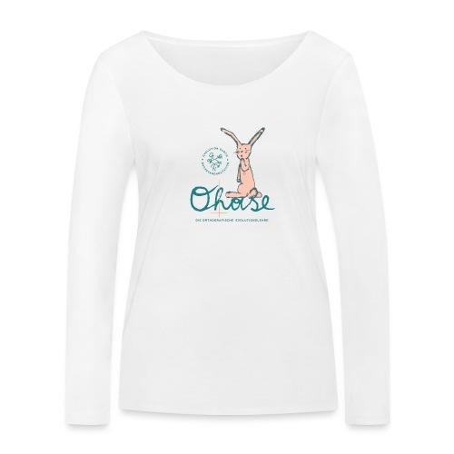 Der O(h)ase - Frauen Bio-Langarmshirt von Stanley & Stella